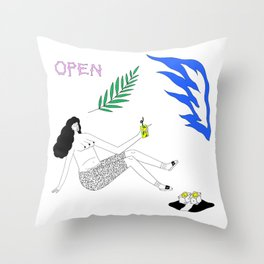 Heatwave Throw Pillow
