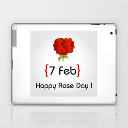 Happy Rose day february 7th- valentine month gifts for lovers Laptop & iPad Skin