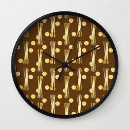 Campania golden Harvest Wall Clock