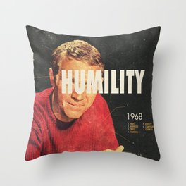 Humility 1968 Throw Pillow