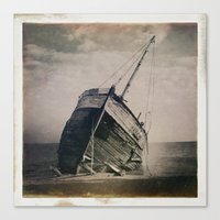 boat Canvas Prints featuring Boat by Jean-François Dupuis