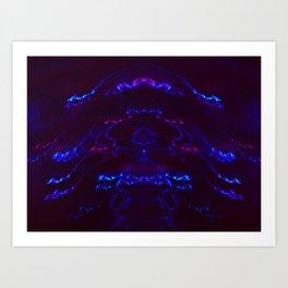 Not A Jellyfish Art Print