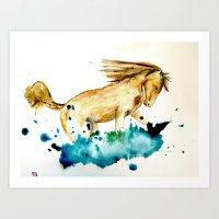 horse /// 004 Art Print