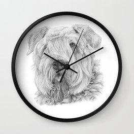 Bouvier des flandres Wall Clock