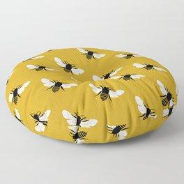 Bee world Floor Pillow