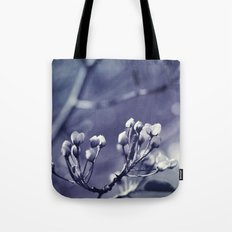 Spring in Black and White Tote Bag