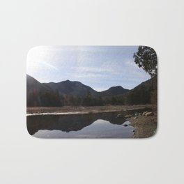 High Peaks Upstate New York Lake Placid Bath Mat