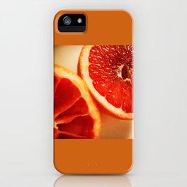 Grapefruit  iPhone Case