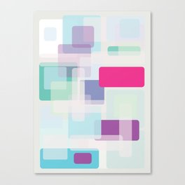 Shape series 3 Canvas Print