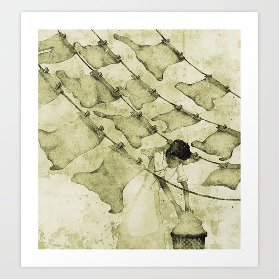 Salt of the earth Art Print