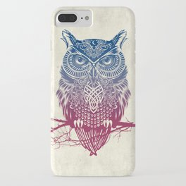 Evening Warrior Owl iPhone Case