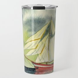 Fair Winds And Following Seas Travel Mug