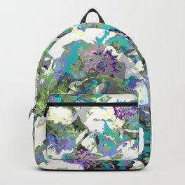 Bright Peony Garden Backpack