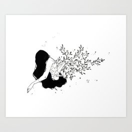 Crystal Growth II Art Print