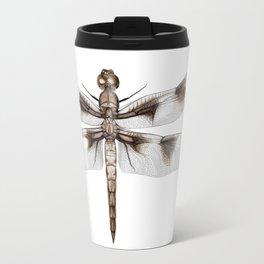 Twelve-Spotted Skimmer Dragonfly Travel Mug