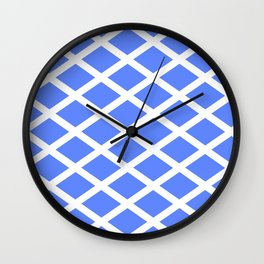 abstraction from the flag of scotland. Wall Clock