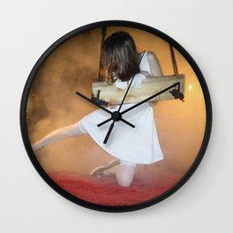 Can I Kick It? Wall Clock