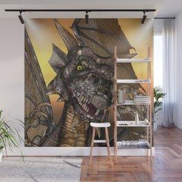 Edwin Dragon - a portrait Wall Mural