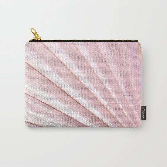 Fan palm - pink Carry-All Pouch