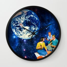 """""""A Coke and a Smile"""" Wall Clock"""
