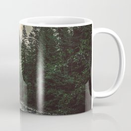 Pacific Northwest River - Nature Photography Coffee Mug