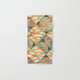 Triangles and Circles Pattern no.23 Hand & Bath Towel
