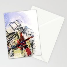 monday dead Stationery Cards
