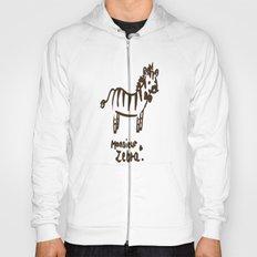 Monsieur Zebra  Hoody