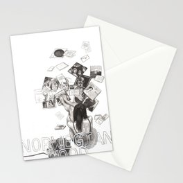Norwegian Wood Film Poster Stationery Cards