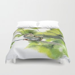 Balancing Act by Teresa Thompson Duvet Cover