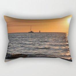 RED SUNSET Rectangular Pillow