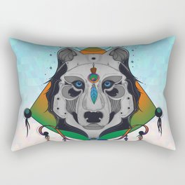 Wolf Shaman Rectangular Pillow