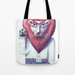 Lion's heart Tote Bag
