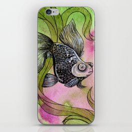 Moorfish on Green iPhone Skin