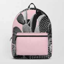 Bunny Ears Cactus on Pastel Pink #cactuslove #tropicalart Backpack