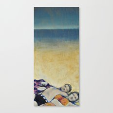 Meik Beach Date  Canvas Print