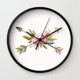 Sweet Arrows Wall Clock