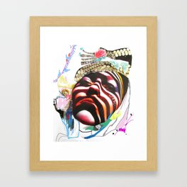 MAdame madAme Framed Art Print