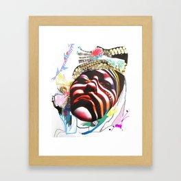 MAdame madAme Framed Art Print