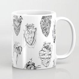 The Anatomy of a Heart Pattern Coffee Mug