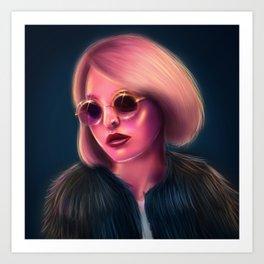 Lily-Rose Art Print