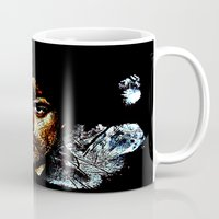 fringe Mugs featuring Fringe by D77 The DigArtisT