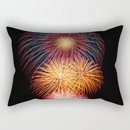 Fireworks Display Rectangular Pillow