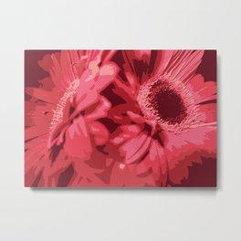 Red Gerberas Metal Print