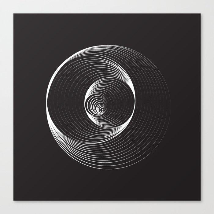 Black Hole - Small Canvas Print