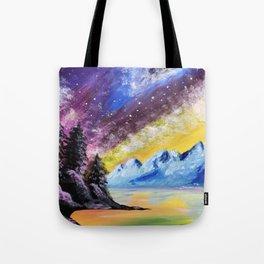 Interstellar Landscape Tote Bag