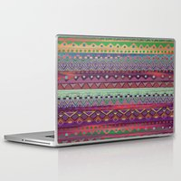 ethnic Laptop & iPad Skins featuring Ethnic Bracelet by Nika