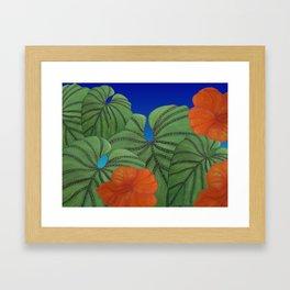 Australica Reef Affair Framed Art Print