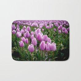 Skagit Valley Tulip Fields Bath Mat