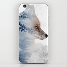 Fox and the Nature iPhone Skin